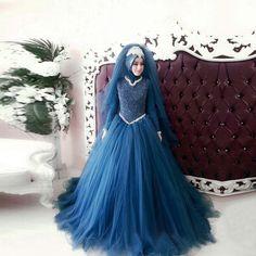 2017 Long Sleeve Muslim Wedding Dress Luxury Gelinlik Beaded Pearls Turkish Women Wedding Gowns Islamic Bride Dresses With Hijab#islamic wedding gowns