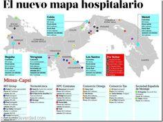 El nuevo mapa hospitalario del país - http://panamadeverdad.com/2014/10/13/el-nuevo-mapa-hospitalario-del-pais/