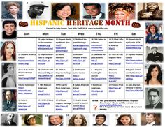 Celebrate Hispanic Heritage Month with trivia and websites from Tech With Tia. Free to download and share!