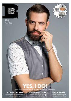 Το νέο τεύχος ήρθε με αέρα άνοιξης και αφιέρωμα στους επίδοξους γαμπρούς! Yes I do λοιπόν γιατί και οι άντρες χρειάζονται την προετοιμασία τους!  Model: Sif Georgios for Barbatus Concept / styling: GiPap Grooming: Joy's Birth The Barbershop Photo credits: Panos Giannakopoulos #theBmag #newissue #findit