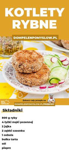 Fish Recipes, Hamburger, Bread, Cooking, Health, Drink, Food, Recipes, Kochen