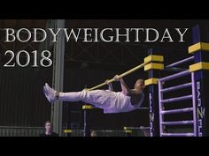 The Bodyweightday is an event about training with your own body weight. There you can try out a lot of new thinks. For example: Parkour, Bouldern, Aircrobati. New Thought, Parkour, Calisthenics, Body Weight, Events, Youtube, Bouldering, Youtubers, Youtube Movies