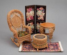 Good Sam Showcase of Miniatures: Dealer Rhea Strange, Rhea's Wicker in Miniature