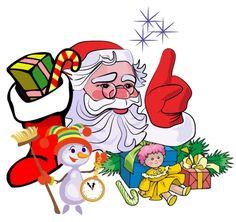 Gif natale: Babbo Natale
