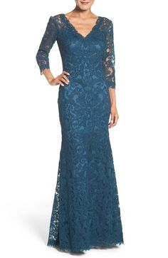 Tadashi Shoji Lace Gown (Regular & Petite) available at #Nordstrom
