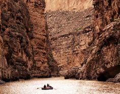 the Rio Grande in Big Bend National Park, Texas, a journey through spectacular limestone canyons|concierge.com