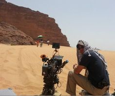Stana in the distance in the desert.