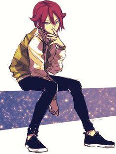Inazuma Eleven Aeres No Tenbin - Kiyama Tatsuya 💓 Hunter Foster, Character Concept, Character Art, Anime Guys, Manga Anime, Inazuma Eleven Go, Boy Art, Fanart, Cartoon Wallpaper