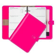 Filofax - Original Personal Organiser Flouro Pink | Peter's of Kensington