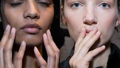 C'est Chic: Natural Nails Look Luxe At Vera Wang http://ht.ly/JYHBl