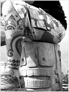 Maori Tribal Tattoo Designs: The Full Maori Tribal Tattoo Designs And Meaning For Men On Calf ~ tattooeve.com Tattoo Design Inspiration