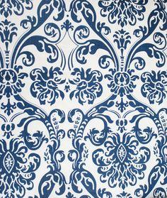 "hello blue & white! Salt Box, Navy 54"" Wide $12.95/yds #fabric"
