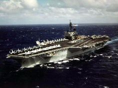 USS Constellation (got to ride this back from Washington State to San Diego) - My old home for 4 years.