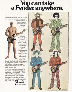 You can take a #Fender everywhere! #funny #ads #funnyads #TBT #WBW