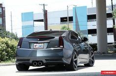 #Cadillac #CTS-V on #Vossen VVS-CV3's