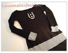 ♥ Luusmeitlifashion ♥: Joana Joliou Farbenmix Schnittmuster nähen http://muggelchens-kuschelwear.blogspot.ch/2012/02/joana.html