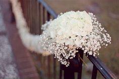decoração floral para cerimônia de casamento