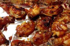Receita de asa de frango com creme de cebola