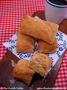 The Dutch Table: Amandelbroodjes (Dutch Almond Turnovers) | travel ✈ Netherlands