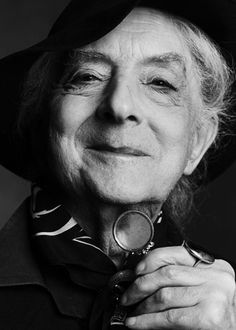 Quentin Crisp. I've lived in Greenwich Village for more than 20 years. I used to see Quentin all the time.
