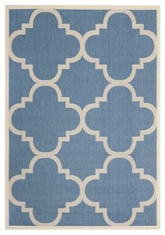 """$109 dollar rug.. you can so do this as a painted """"painters tarp"""" for so much cheaper than that..."""