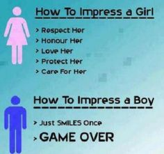 How To Impress a Girl VS a Boy  - Best funny, pics, humor, jokes, hilarious, quotes
