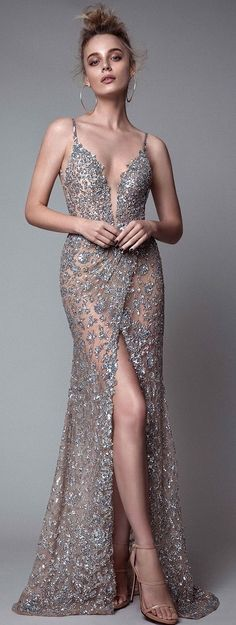 Twilight nude gown
