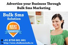 We can help you boost your business, Efficient SMS Service to Generate Leads! we provide SMS Marketing services to our clients, which help them to promote their business @ know more visit : http://www.ebulksmsindia.in/