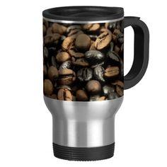 Whole Bean Coffee Travel Mug