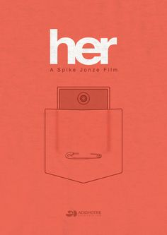 #Her - #minimalistic poster