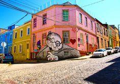 This is why i liked #Valparaiso because you walk in the city And you find this #beautiful street art!  Do you like?   Voilà pourquoi j'adore la ville de Valparaiso parce qu'en te baladant dans les rues tu découvres toujours du street art impressionnant! Est ce que vous aimez?  #mellevoy #travelblogger #voyage #neverstopexploring #keepexploring #exploringtheglobe #sharetravelpics #SimplyAdventure #world_captures #TeamTravelers #TeamVL #Artofvisuals #bestintravel #leroutard #picoftheday…