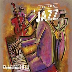 All That Jazz Wall Calendar: This calendar reflects the deep relaxation experienced when listening to good jazz music. Images of instruments in the hands of master artists creating the sounds of smooth jazz are featured each month.  $6.97  calendars.com/...