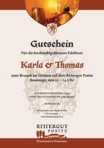 Gutschein - Das besondere Geschenk
