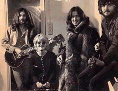 George with Delaney and Bonnie Bramlett and Eric Clapton