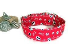 Martingale pesadilla antes de navidad.Collar de perro.Jack Skellington.Collar…
