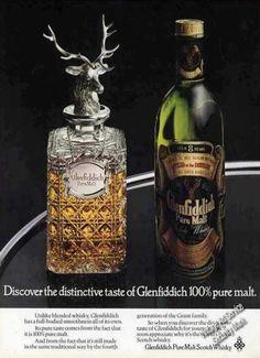 Glenfiddich Pure Malt Scotch Whiskey Uk (1976)