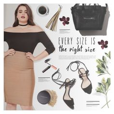 """Right size"" by makeupgoddess ❤ liked on Polyvore featuring Missguided, STELLA McCARTNEY, Bare Escentuals and Arche"