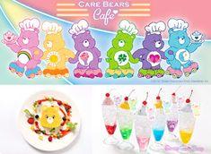 Nihon ga daisukii: Care Bear Cafe - HARAJUKU (por tempo limitado )