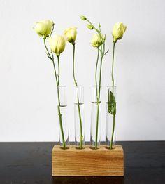 Test Tube Flower Vase Set | Home Garden & Patio | Moss & Twig | Scoutmob Shoppe