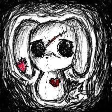 Resultado de imagen para dibujos goticos tristes a lapiz
