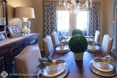 Dining Room Make Over by Emily Hewett of A Well Dressed Home