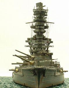 戦艦 扶桑 Battleship Fuso (model)