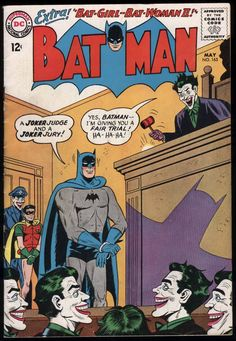 Batman Vol 1 163 Joker Comic, Batman Comic Books, Batman Comics, Comic Books Art, Comic Art, Book Art, Batman Story, Batman And Superman, Joker Batman