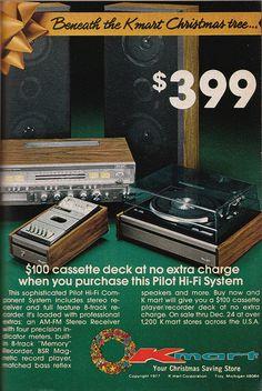 K mart December 1977