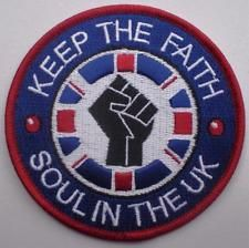 NORTHERN SOUL PATCH - SOUL IN THE UK - KEEP THE FAITH Soul Patch, Northern Soul, Keep The Faith, Photo S, About Uk, Patches, School