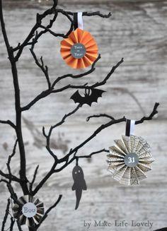 easy diy halloween tree decoration free printable