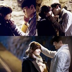 Kang Ha Neul & Nam Ji Hyun in Angel Eyes drama