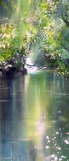 Kanta Harusaki, Japan. Watercolor.