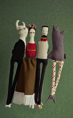 Dolls + Frida~ Image © Vinny dolls, 2013