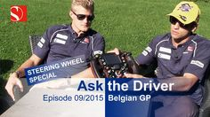 Marcus & Felipe explain our steering wheel and the new starting procedure. Enjoy our video from the - Belgian Grand Prix, Video Team, F1 Season, Amazing Race, Keep Fighting, F 1, Formula One, Image Collection, Baseball Cards